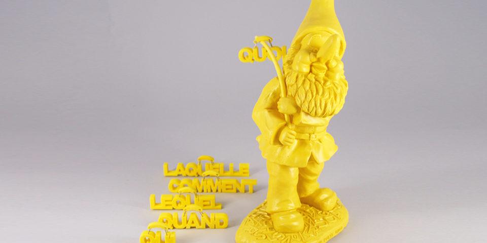 NAIN  PORTE  QUOI    jaune